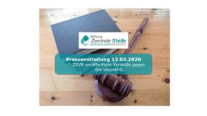 Zentrale Stelle macht Ernst und veröffentlicht Verstöße gegen das VerpackG