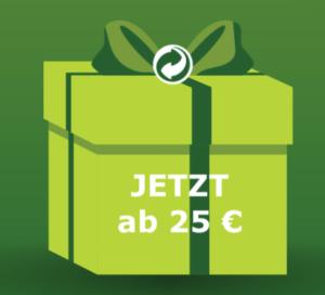 GrünerPunkt  | Verpackungslizenz ab 25 Euro – versteckte Rabatt-Aktion