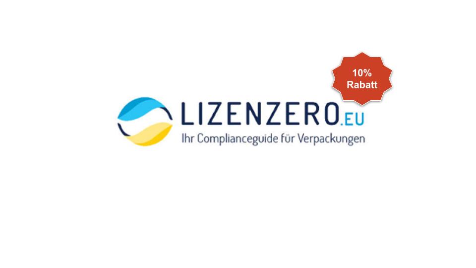 Lizenzero logo 10% off